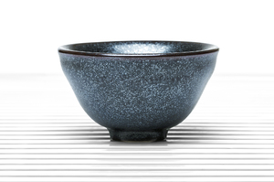 Dark Grey  Deep  Flared Tea Bowl